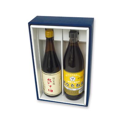 純ごま油・純なたね油セットの商品イメージ