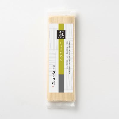 しょうがめん(つゆなし/2食入)の商品イメージ