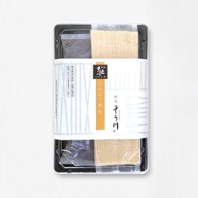 にんにくめん(つゆ付き/2食入)の商品イメージ