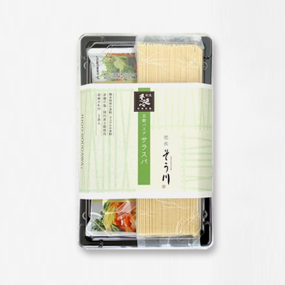 五穀パスタサラスパ(ソース付き/2食入)の商品イメージ