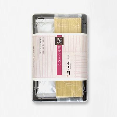 豚骨らーめん(スープ付き/2食入)の商品イメージ