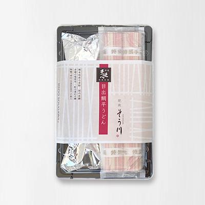 目出鯛平うどん(つゆ付き/2食入)の商品イメージ
