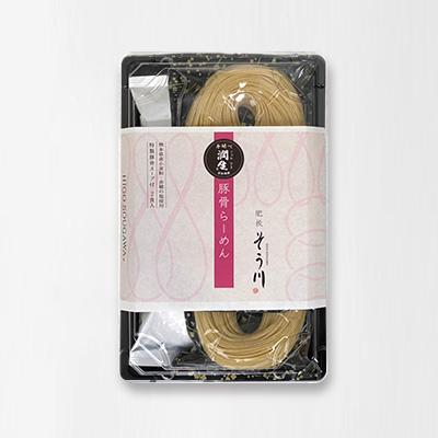 潤生豚骨らーめん(スープ付き/2食入)の商品イメージ