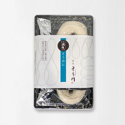 潤生そうめん(つゆ付き/2食入)の商品イメージ