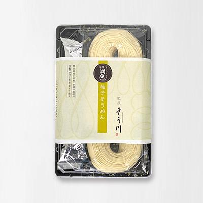 潤生柚子そうめん(つゆ付き/2食入)の商品イメージ