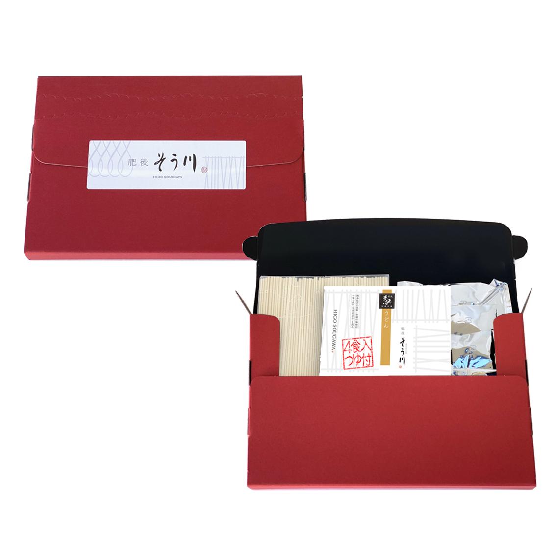 徳用乾うどん(つゆ付/4食入)の商品イメージ