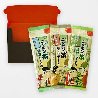 ニッポン茶3らーめん(3食入)の商品イメージ