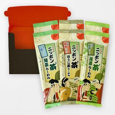 ニッポン茶3らーめん(6食入)の商品イメージ
