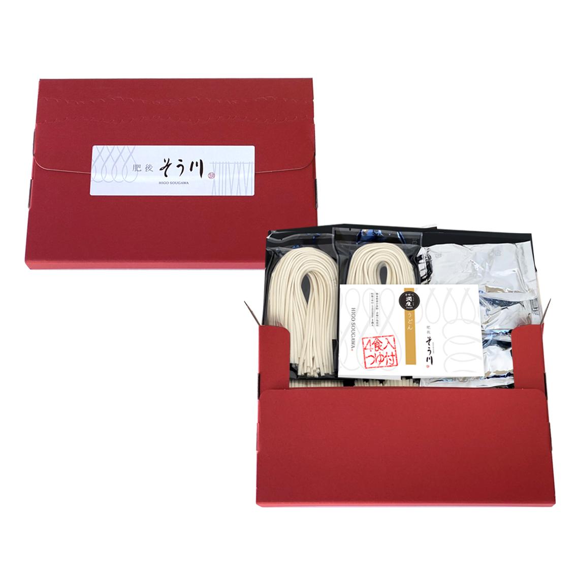 徳用潤生うどん(つゆ付/4食入)の商品イメージ