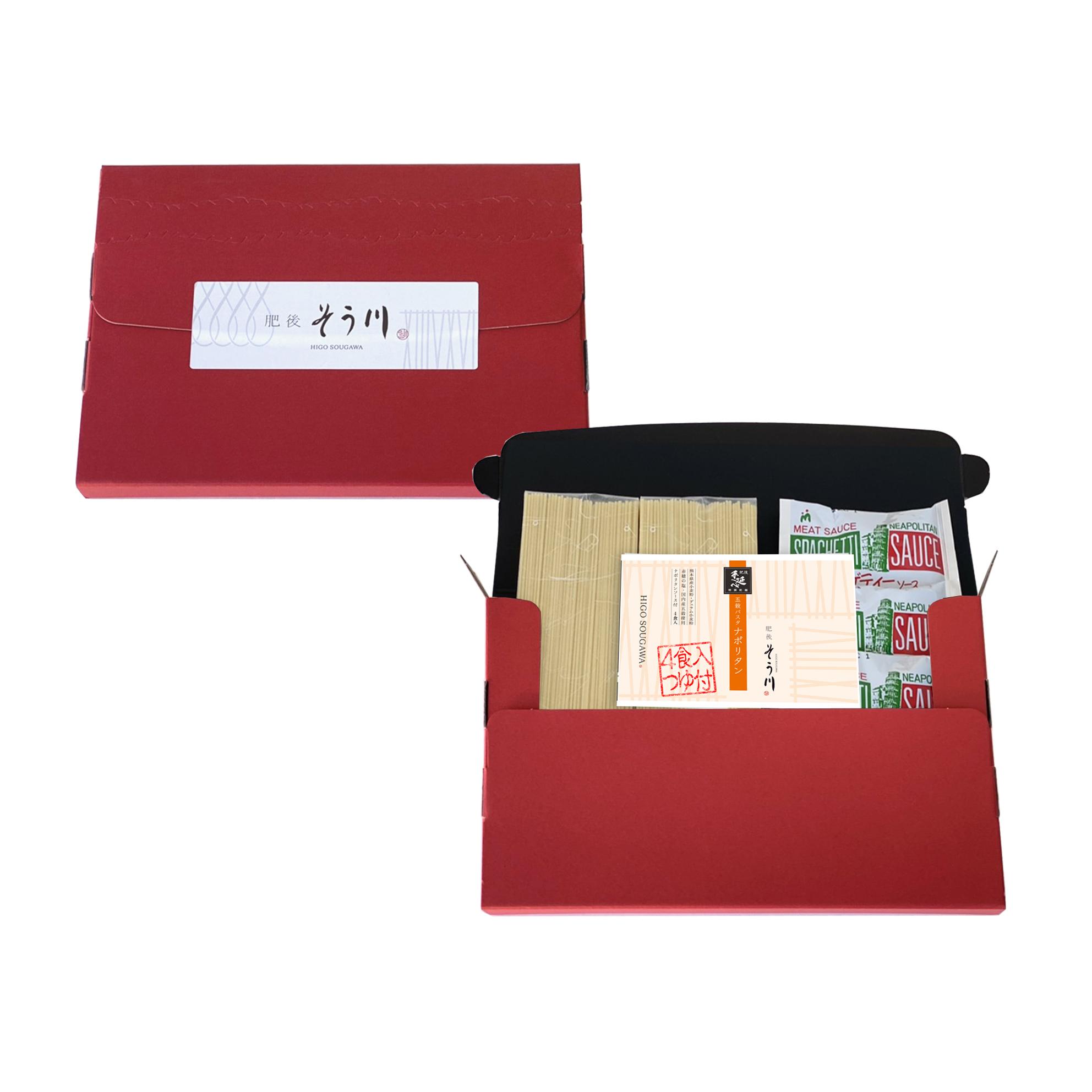 徳用五穀パスタナポリタン(ソース付/4食入)の商品イメージ