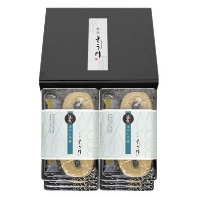 潤生麺 冷やし中華セット 6パック(つゆ付き/12食入)の商品イメージ